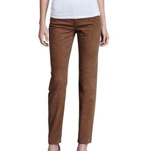 NYDJ Sherri Cheetah Print Skinny Jeans